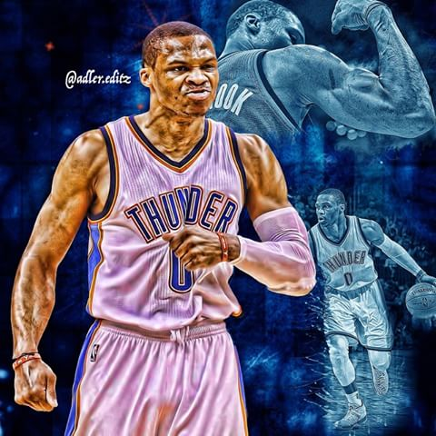 Image result for russell westbrook MVP photoshop