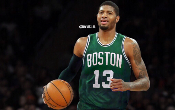 Image result for Celtics Cavs paul George