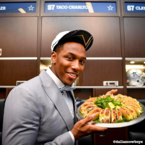 Our boy Taco Charlton is taking his talents to Taco Bueno