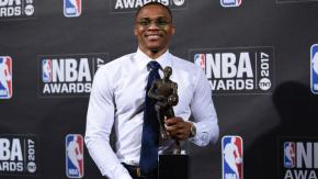 THIS JUST IN about 3 months ago: Russell Westbrook named MVP